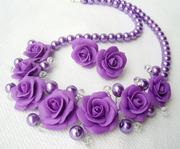 НАБОР «Лиловые розы»